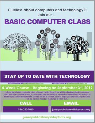 BASIC COMPUTER CLASS!